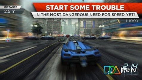need for speed most wanted igra s druzyami
