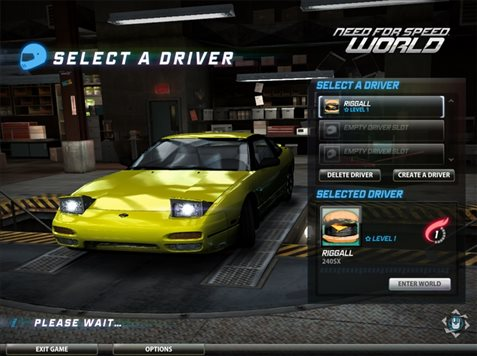 need for speed world igrat